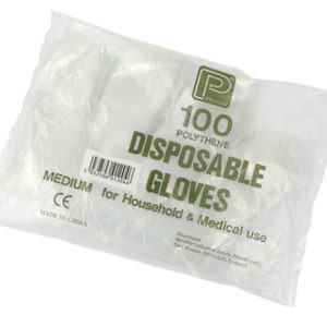 Polythene Gloves